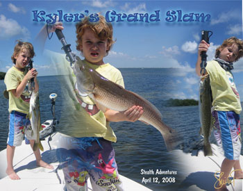 Fishing and boating for Grand slam fishing