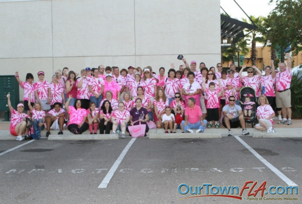 Making Strides Against Breast Cancer Part 1 Of 5 At The