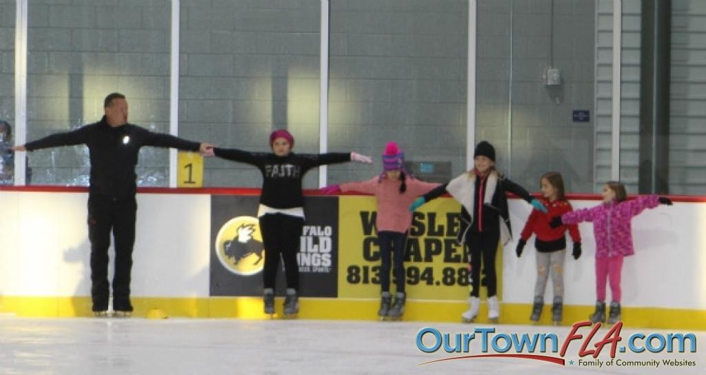 Florida Hospital Center Ice Learn To Skate Class