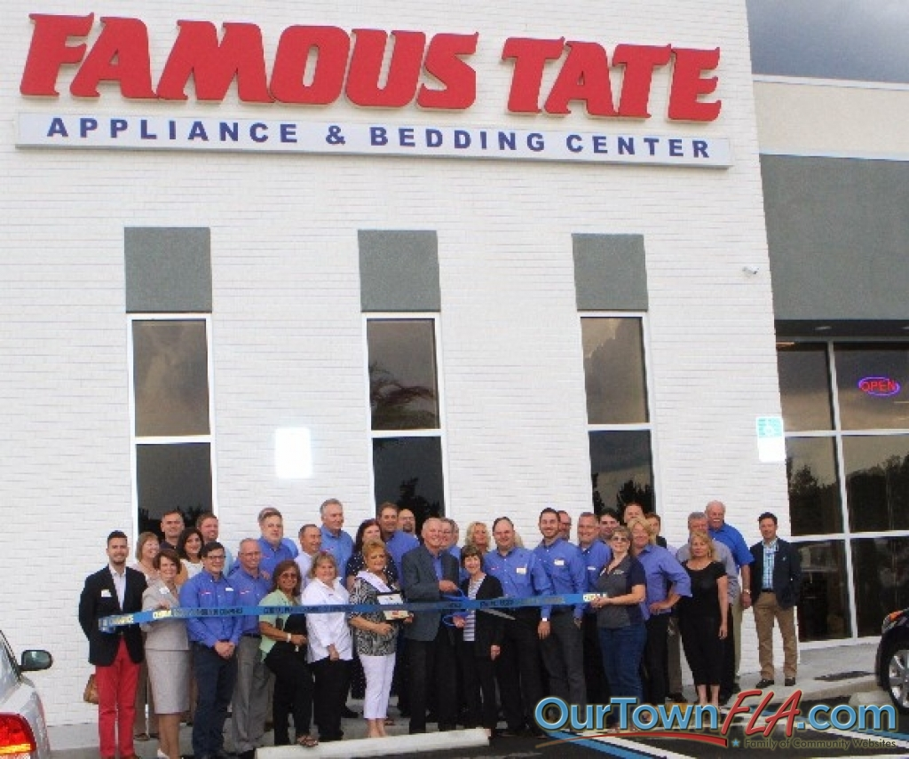 Famous Tate Liance Bedding Centers Celebrates Grand Opening And Ribbon Cutting In Lutz