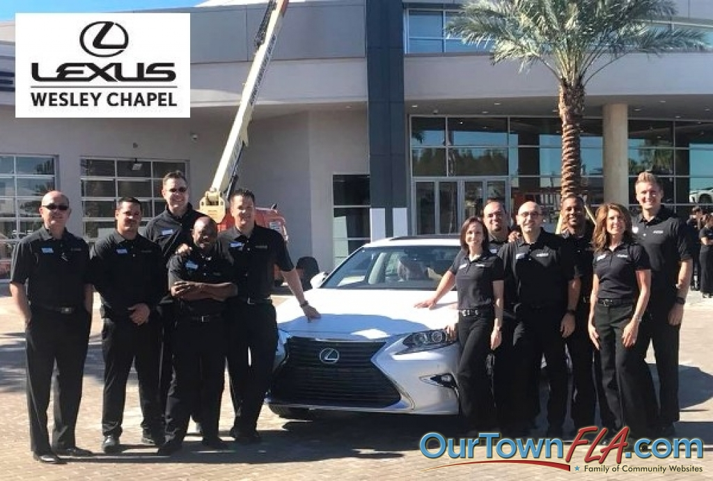 Lexus Of Wesley Chapel >> Lexus of Wesley Chapel Receives First Truckload of New Vehicles as Construction of Dealership ...