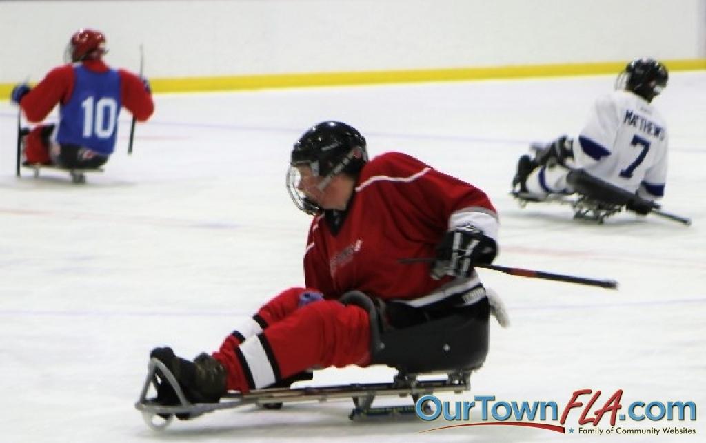 Southeastern Sled Hockey Tournament Tampa Bay Lightning Vs Carolina