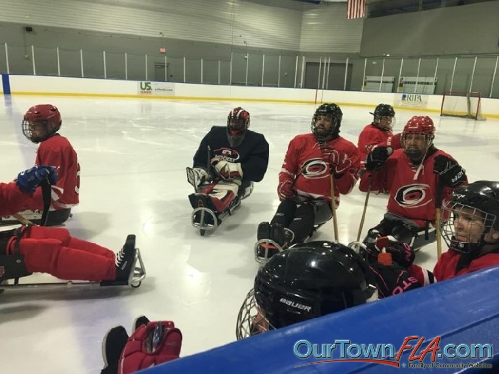 Tampa Bay Lightning Sled Hockey Tournament At Florida Hospital