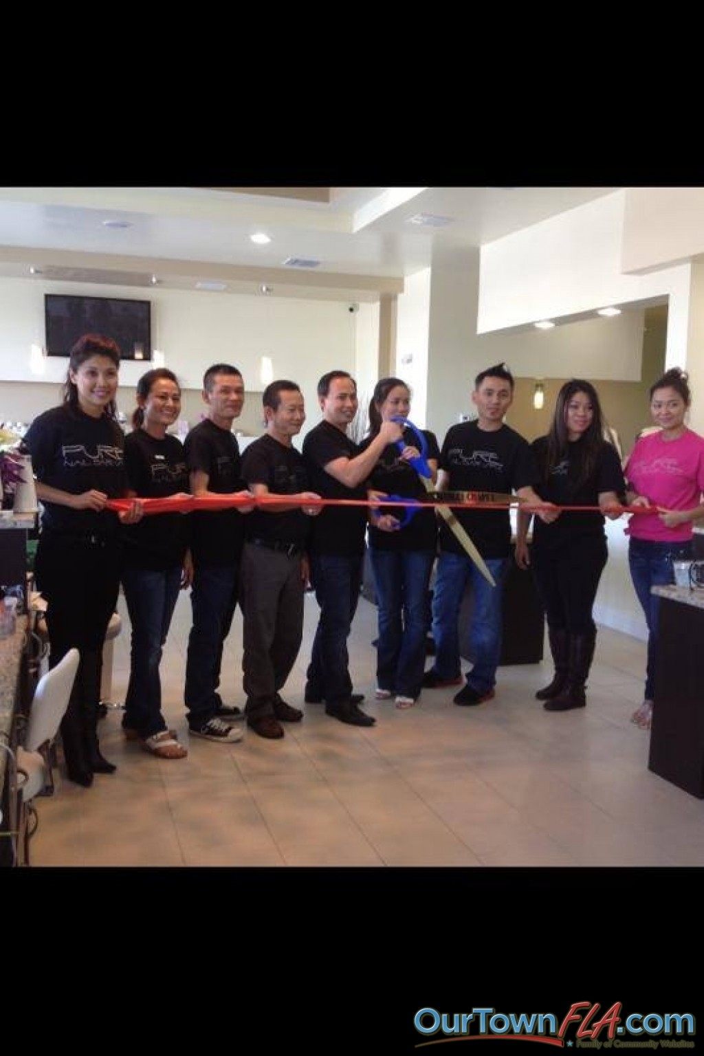 Grand opening for pure bar nail spa in their wesley chapel for Jj fish wesley chapel