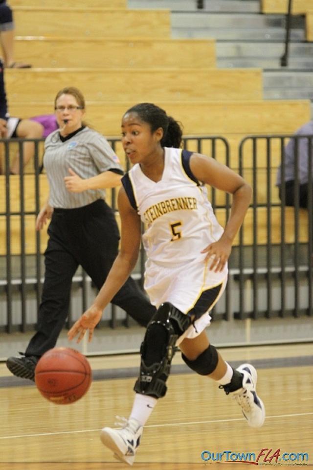 Girls Basketball Steinbrenner High School Vs Chamberlain High School