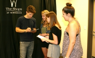 Wesley chapel community events news the shops at wiregrass held their back to school bash full of family fun and excitement including special guest keegan allen who plays toby on abc familys m4hsunfo